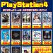 【ゲーム】PS4買取チラシ更新!4月末~イベント開催!ハードも強化買取中!